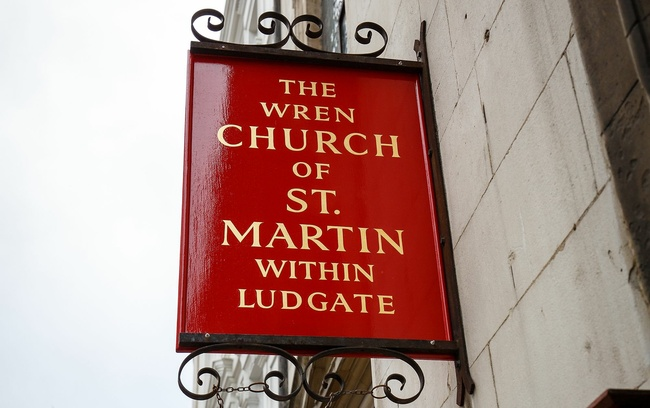 The Church of St Martin-within-Ludgate